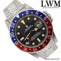 Rolex GMT Master 1675 Pepsi blue and red Full Set 1978's