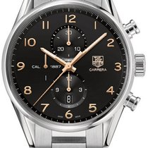 TAG Heuer Carrera Calibre 1887 Stainless Steel NEW