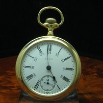 Elgin National Watch Co. Gold Mantel Open Face Taschenuhr Von...