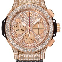 Hublot 341.PX.9010.RX.1704 Big Bang 41mm in Rose Gold with...