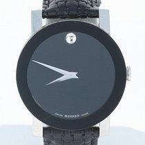 Movado Watch Stainless Steel Swiss Serviced 84G11896 Warranty...