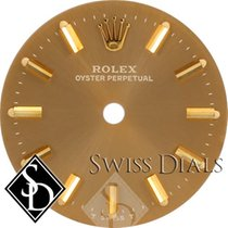 Rolex Oyster Perpetual Champagne Stick Marker T Swiss T Dial...