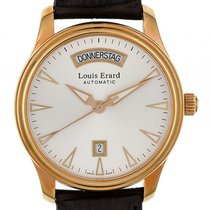 Louis Erard Heritage Day Date Stahl PVD Gelbgold Automatik 40mm