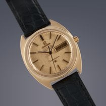Omega Constellation 18ct gold case+dial automatic