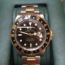 Rolex Gents Stainless Steel  &18ct Yellow Gold GMT Master II