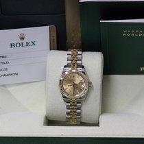 Rolex Datejust 179173 Steel & 18K Gold Never Worn Like New...