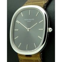 Patek Philippe | Golden Ellipse 18kt White Gold, Ref.3738,...
