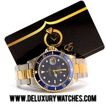 Rolex Submariner Date 16613 2003 Just Service Never Polished