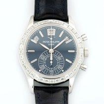 Patek Philippe Annual Calendar Chronograph Platinum Diamonds