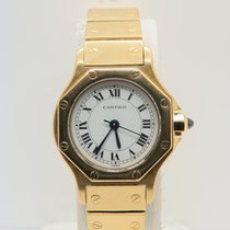 Cartier Santos Octagon 18k Yellow Gold Automatic