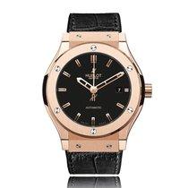 Hublot Classic Fusion Rose Gold Automatic Unisex Watch...