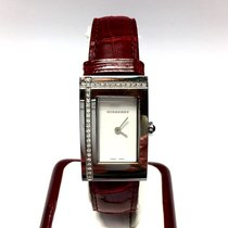 Burberry Stainless Steel Ladies Watch W/ Diamonds &...