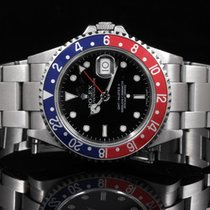 Rolex 16710 GMT-Master II - No Holes Case w/ Error Dial - RARE