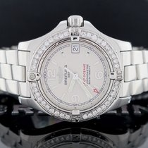 Breitling Colt Oceane 33MM Silver Dial Ladies Watch A77380...
