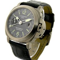 Panerai PAM00089 PAM 89 - Luminor GMT in Titanium - On Black...
