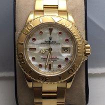 勞力士 (Rolex) Yatch master gold 18k pearlmutt dial