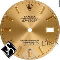 Rolex Datejust Champagne Stick Marker Dial Two-Tone
