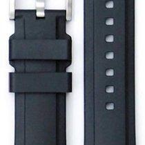 Everest Kautschukband schwarz 20mm  EH5BLK