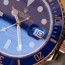 Rolex Submariner REF 116618LB WIE NEU+B&P