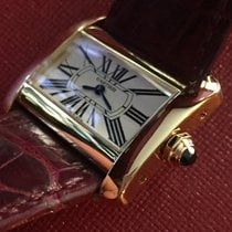 Cartier TANK DIVAN  ROSE GOLD NEW