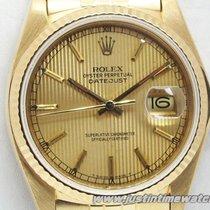 Ρολεξ (Rolex) Oyster DateJust 16018 18K quadrante zigrinato...