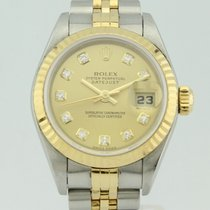 Rolex Oyster Perpetual Datejust Diamond Dial Automatic Lady 79173