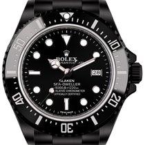 Rolex Sea-Dweller (black, DLC) by Blaken