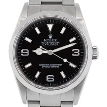 Rolex 114270 Explorer Stainless Steel Black Arabic Dial