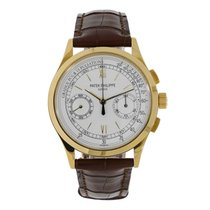 Patek Philippe Complications 39mm Yellow Gold Chronograph