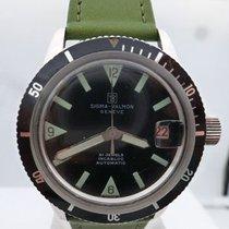 SIGMA VALMON vintage diver auto ref 1195 cal 2452 screwed chrone