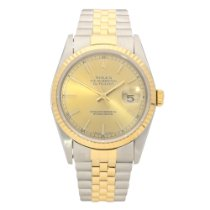 Rolex Datejust 16233 - Gents Watch - Champagne Dial -1996