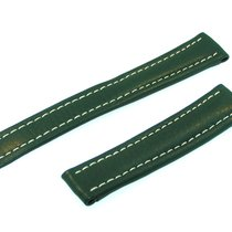 Breitling Band 18mm Green Verde Calf Strap B18-28