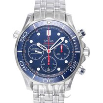Omega Seamaster Diver 300m Chronograph Blue Steel 44mm -...