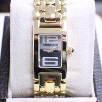 Audemars Piguet Watch Promesse 18k Yellow Gold Ladies Blue...