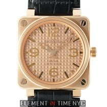 Bell & Ross Aviation Gold Ingot 18k Rose Gold 46mm Rose...