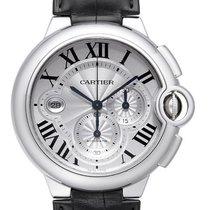 Cartier Ballon Bleu de Cartier Chronograph Edelstahl /Leder...