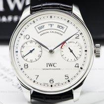 IWC IW503501 Portuguese Annual Calendar SS Silver Dial (25220)