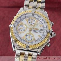 Breitling Chronomat Gt Chronograph Gold /stahl Automatik D13350