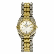 Chopard Gstaad Ladies Two Tone Diamond Watch 32/8117 (Pre-Owned)