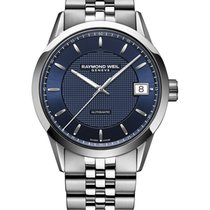 Raymond Weil Maestro Silver Dial Automatic Men's Watch...