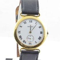 Movado Damen Uhr 30mm Stahl Vergoldet Museum Watch Rar