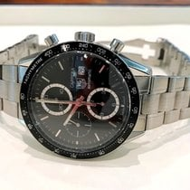 TAG Heuer Carrera Calibre 16 Chronograph Pilot Steel 40 mm