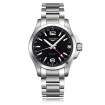 Longines Conquest GMT Bracelet Mens Watch L36874566