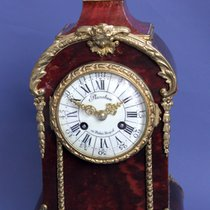 Antique French Rare Small Boulle Striking Mantel Clock / Feine...