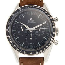 Ωμέγα (Omega) Speedmaster Stainless Steel Black Manual Wind...