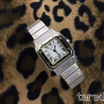 Cartier automatic cartier santos  mid size 1172961  box and paper
