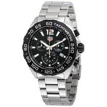 TAG Heuer FORMULA 1 Black Chronograph Logo Steel CAZ1010.BA0842
