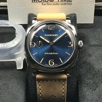 Panerai Radiomir 1940 3 Days Blue Sunburst 47mm Limited Ed [NEW]