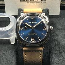 沛納海 (Panerai) Radiomir 1940 3 Days Blue Sunburst 47mm Limited...