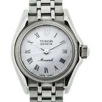Tudor Monarch Silver-Tone Steel White Dial